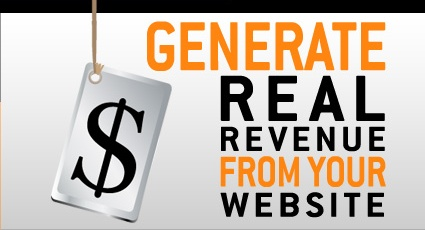 Generate real revenue from within your website